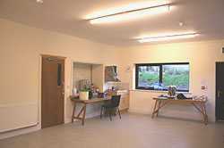 Bleasdale Parish Hall meeting room