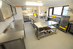 Bleasdale Parish Hall Kitchen